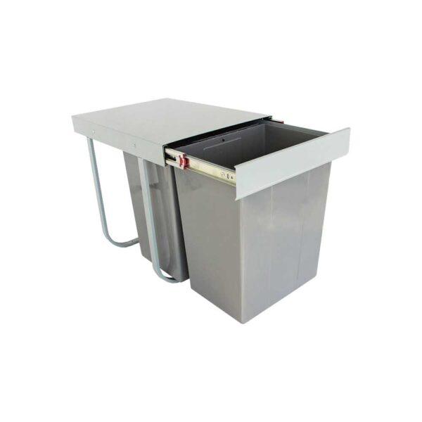 سطل زباله دو مخزنه بزرگ ۲۵ لیتری